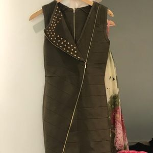 Bebe army dress